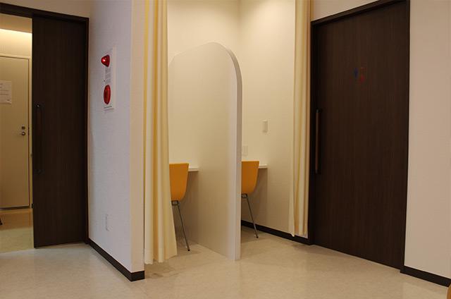 個室ゾーンの画像