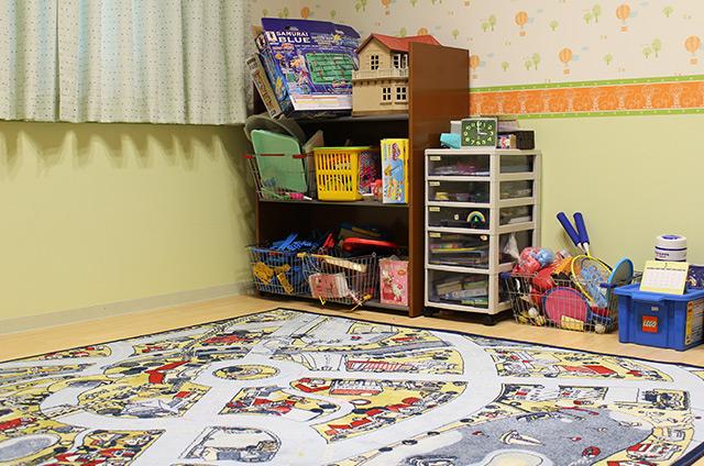 プレイルーム(遊戯療法室)の画像